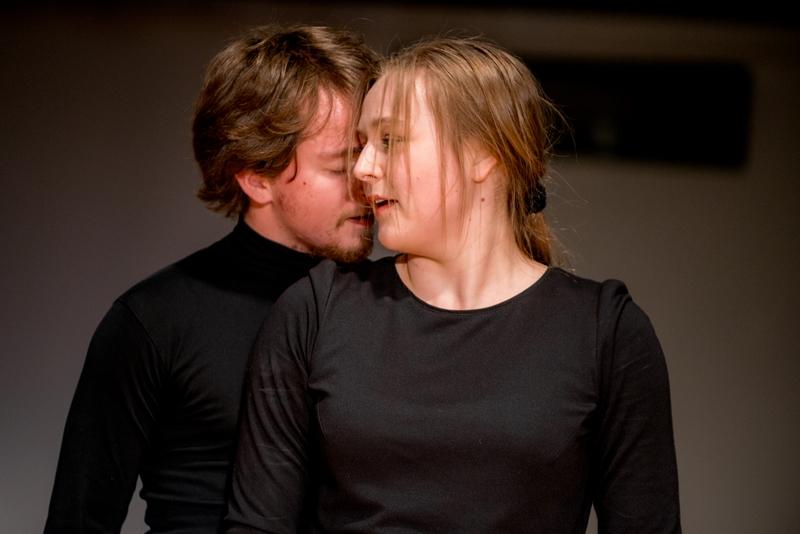Kristóf Farkas (Hungary) and Paulina Wilczyńska (Poland), ATIS 2014 PANDORA'S BOX, photo Maciej Zakrzewski
