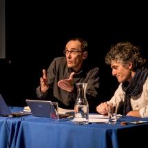 Grzegorz Ziółkowski and Claudio Santana Borquez, ATIS 2017 PULSAR, UPLA, Valparaíso, Chile. Photo Maciej Zakrzewski